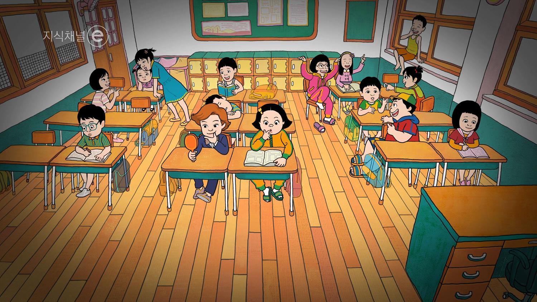 지식채널e [어린이 '명랑'만화를 그린다는 것]
