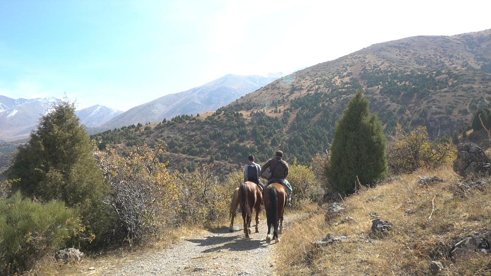 세계테마기행 [한번쯤은 하염없이 몽골 카자흐스탄- 제5부. 말달리자, 톈산]