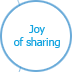 Joy of sharing