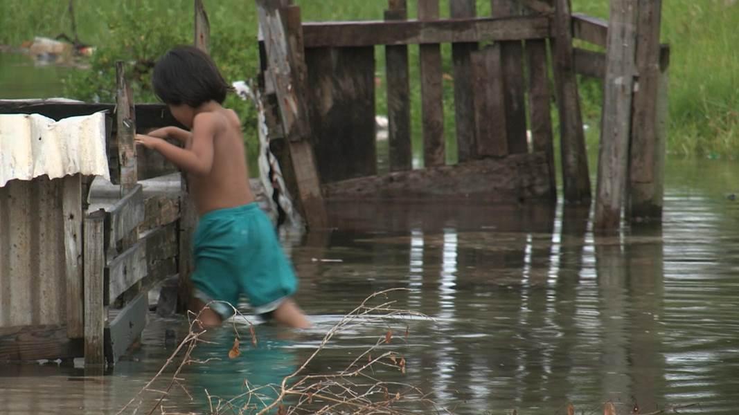 하나뿐인 지구 - 기후변화, 투발루의 증언