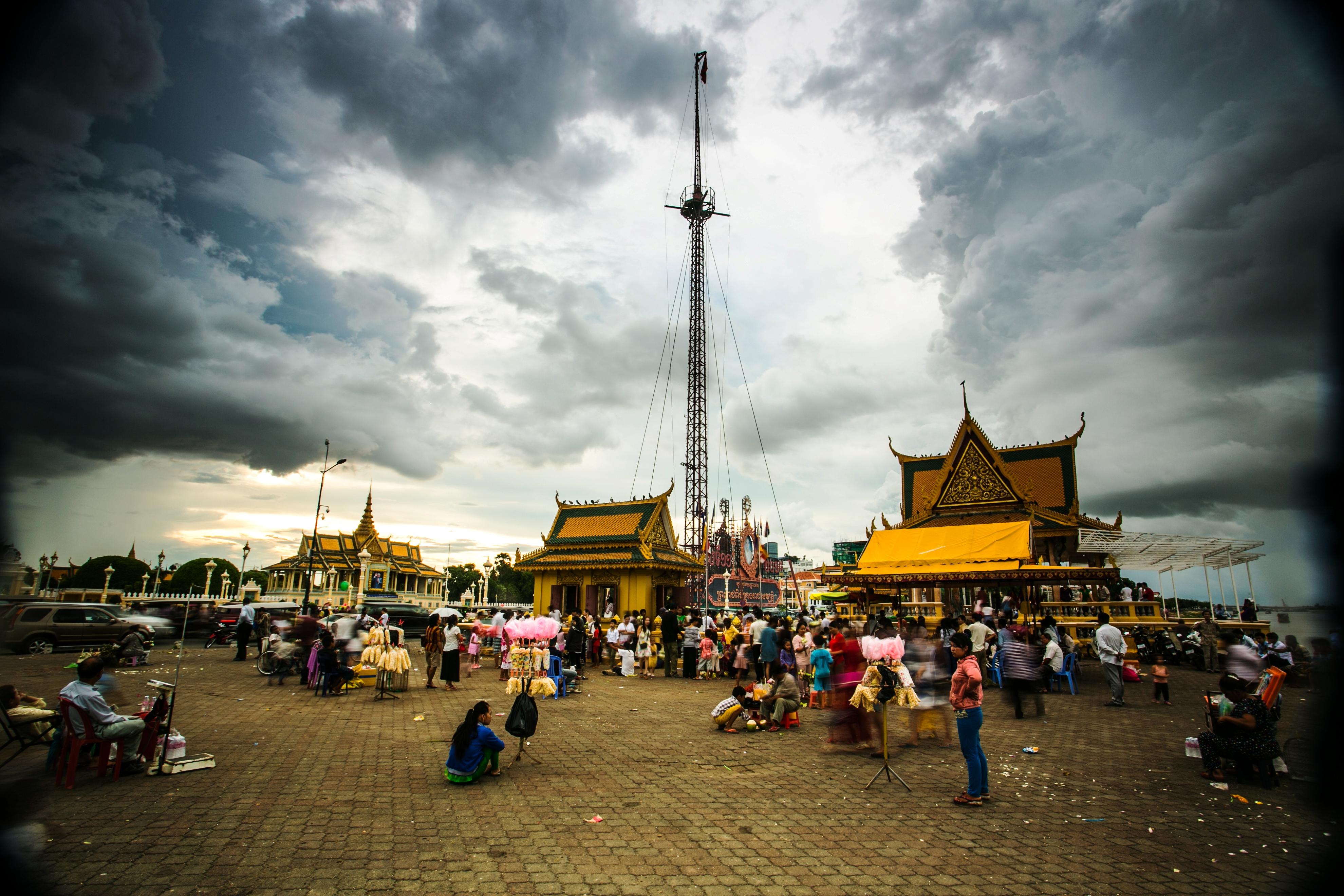 세계테마기행 - 순수한 미소를 만나다,캄보디아 2부 캄보디아의 추석, 프춤번