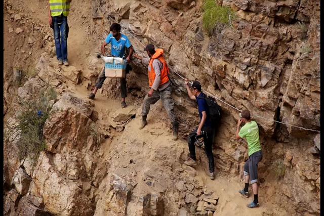 세계테마기행 - 중앙아시아 고원기행 1부 생명의 젖줄을 품다 파미르