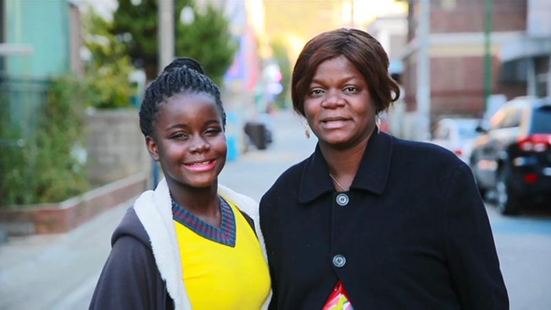 글로벌 가족 정착기 -한국에 산다[라이베리아에서 온 모녀, 한국에 살고 싶어요]