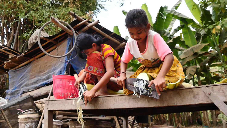 글로벌 프로젝트 나눔 [캄보디아, 버림받은 고아 자매]