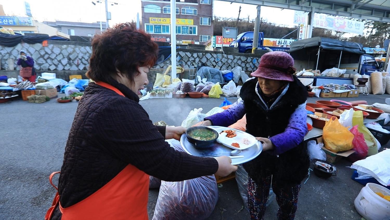 한국기행 - 겨울, 고수를 만나다 1부 고수의 국밥 한 그릇