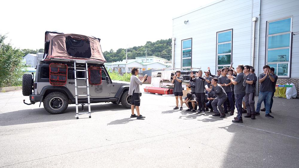 직장탐구 팀 - 4부 캠핑이 체질 세 남자 이야기 캠핑용품회사
