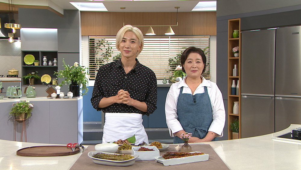 최고의 요리비결 - 박영란의 고구마줄기볶음과 머윗대볶음