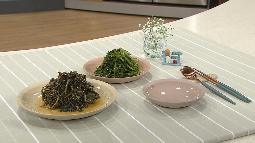 최고의 요리비결 - 박영란의 취나물볶음과 취나물무침