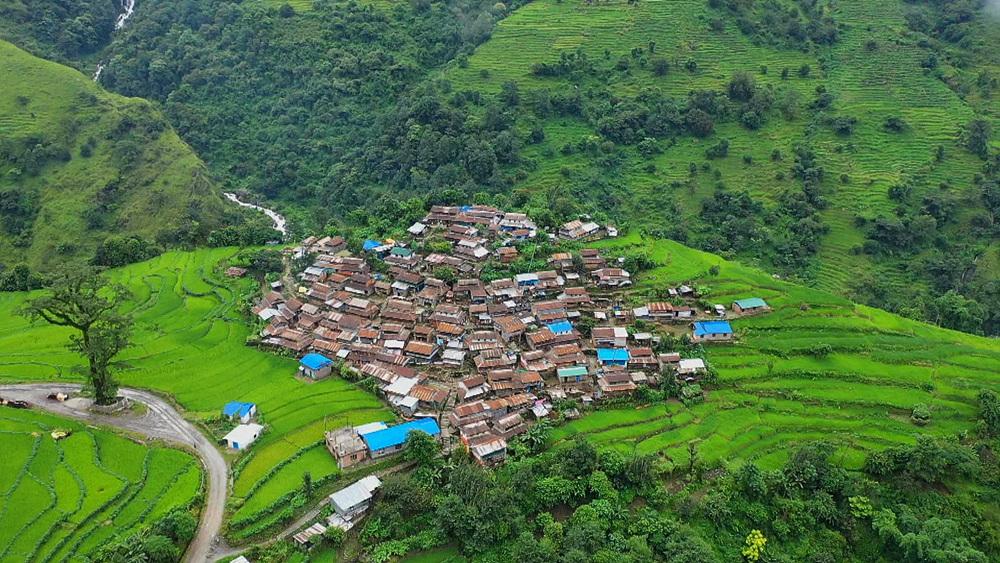 세계테마기행 1부 - 히말라야의 가을-구룽족이 사는 법