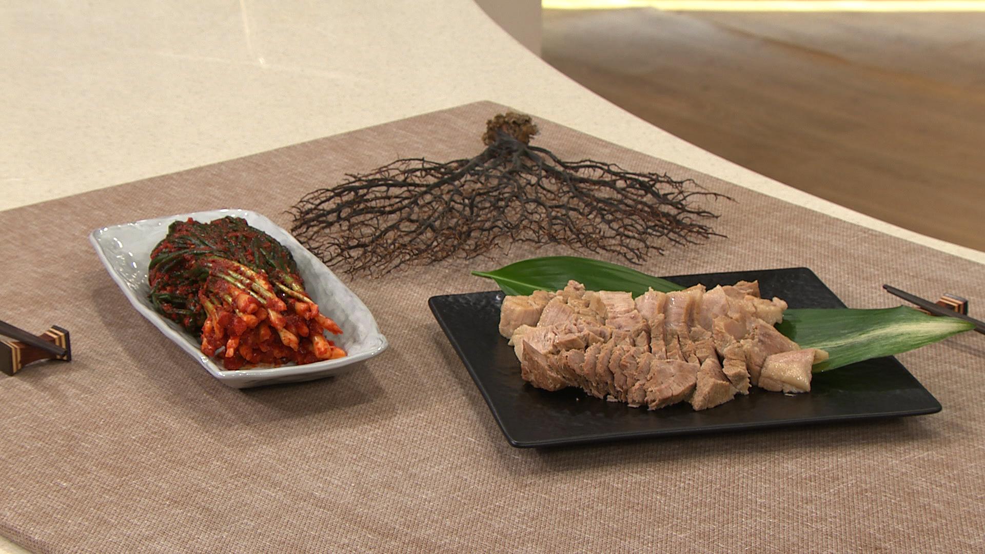 최고의 요리비결 - 유귀열의 돼지고기 수육과 파김치