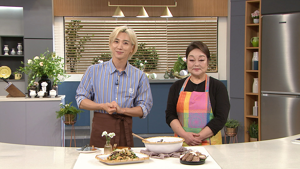 최고의 요리비결 - 이혜정의 표고버섯팔보채와 표고버섯깨무침