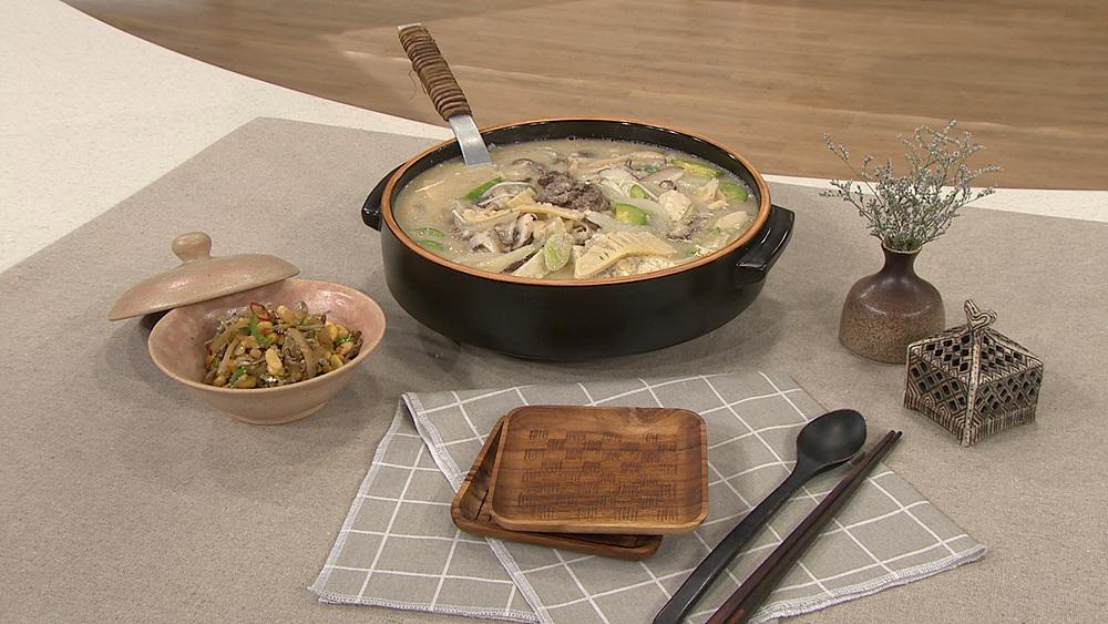 최고의 요리비결 - 이혜정의 불고기버섯들깨탕과 자차이콩조림