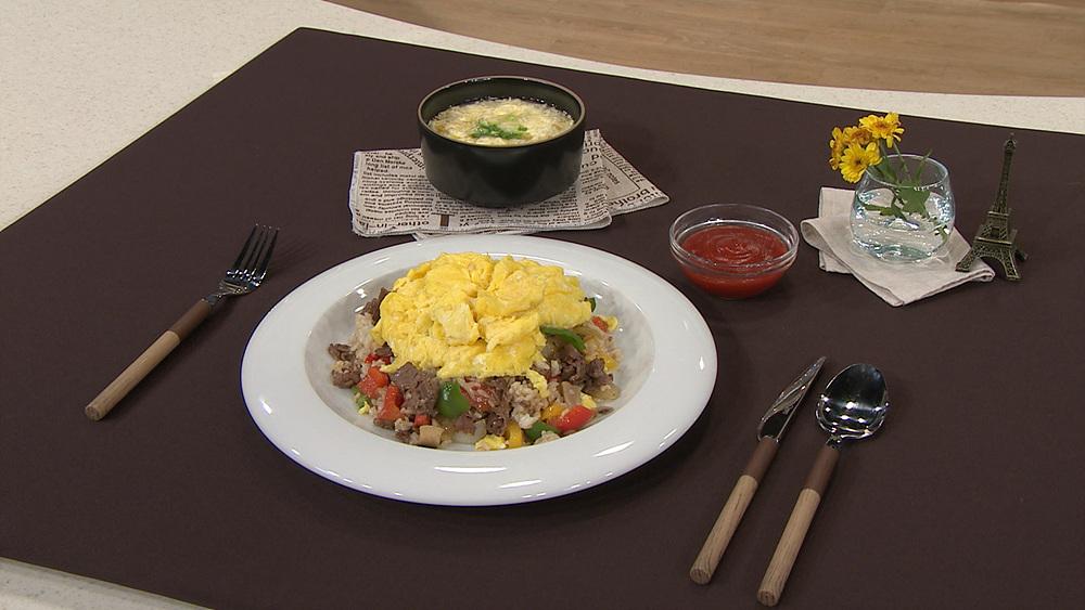 최고의 요리비결 - 이혜정의 오므비프라이스와 달걀국