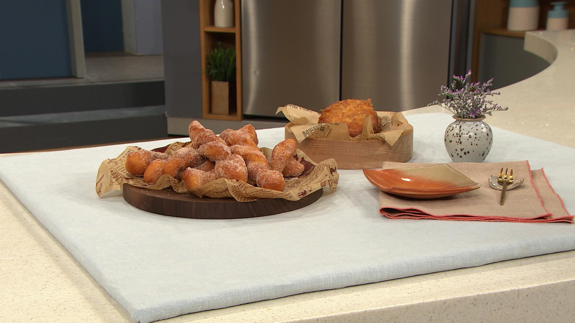 최고의 요리비결 - 최진흔의 찹쌀꽈배기와 팥 크로켓